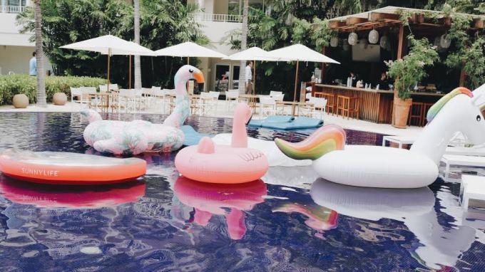 Pool floatie dreams